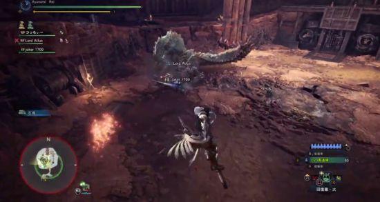 《怪物�C人:世界》冰原DLC雷狼��重弩打法