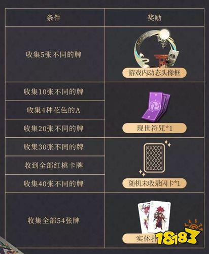 阴阳师扑克牌兑换码第十期图片