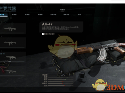 《使命召喚16:現代戰爭》AK47的RPM介紹