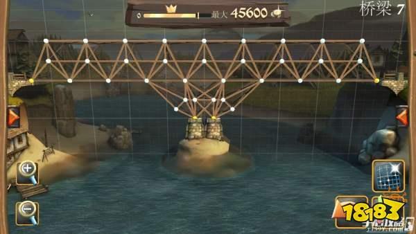 桥梁构造师 桥梁构造师中世纪开战桥梁7满星通关攻略 好玩的回合制网游