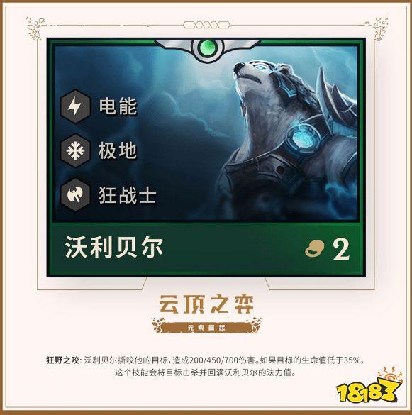 betway必威亚洲官方网站_英雄联盟云顶之弈极地羁绊有哪些英雄?