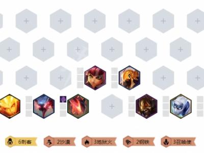 《云頂之弈》9.22六刺怎么玩?9.22六刺玩法推薦
