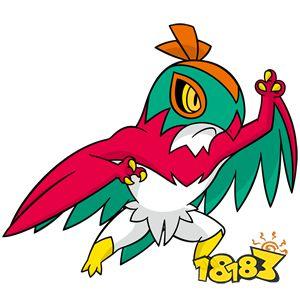 宝可梦剑盾摔角鹰人进化图鉴