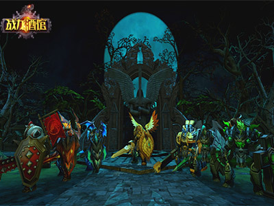 為了聯盟!3D魔幻手游《戰龍酒館》團戰玩法揭秘
