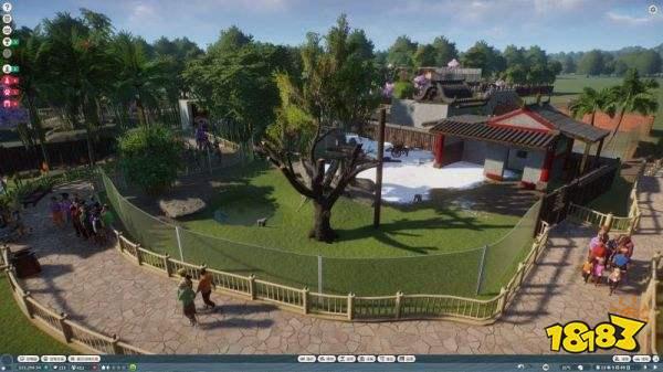 《动物园之星》园林式动物园布局分享