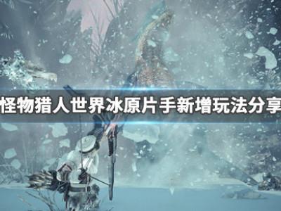 《怪物獵人世界冰原》片手新增了什么 片手新增玩法分享
