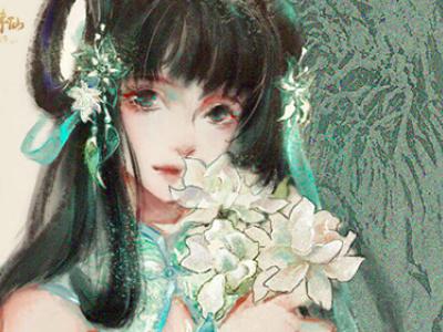 《梦幻新诛仙》玩家绘制碧瑶 灵动又有爱