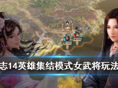 《三國志14》英雄集結模式全女武將玩法圖文戰報 英雄集結模式怎么玩