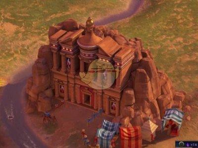 《文明6》佩特拉古城歷史背景故事一覽