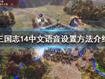 《三国志14》语音怎么设置成中文 中文语音设置方法介绍