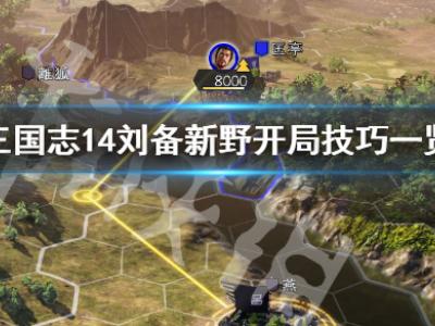 《三国志14》刘备207新野最高难度怎么开局 刘备新野开局技巧一览