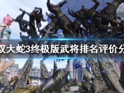 《无双大蛇3终极版》武将排名评价分析 武将强度梯队一览