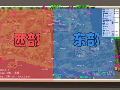 逃離塔科夫海岸線地圖重要位置圖示