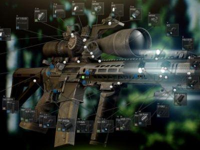逃離塔科夫AK與AR系列全配件改裝數據