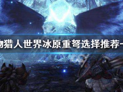 怪物獵人世界冰原重弩選哪個好 重弩選擇推薦