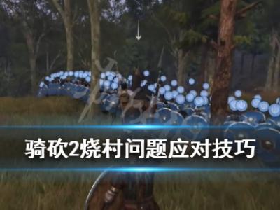 《骑马与砍杀2》烧村子怎么办?烧村问题应对技巧
