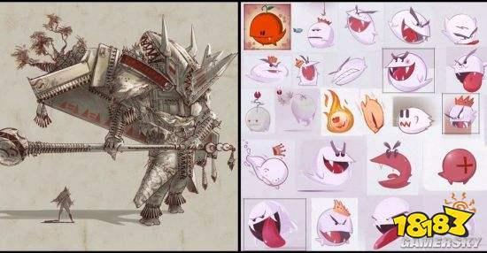 任天堂两款被取消作品概念图 黑暗风格《塞尔达》