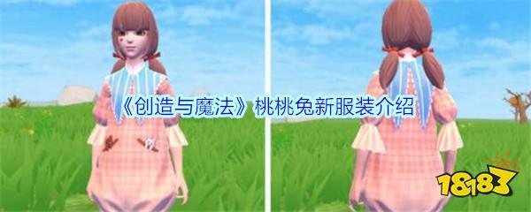 《创造与魔法》桃桃兔新服装介绍