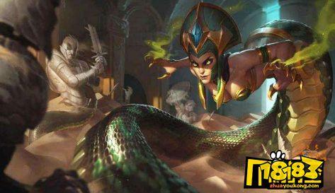 云顶之弈10.12神超六圣盾蛇女阵容怎么搭配