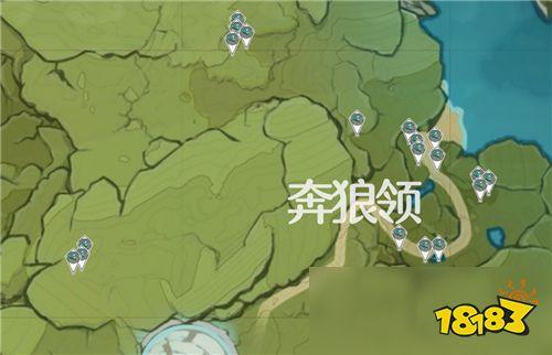 原神小灯草在哪里 地图坐标分享
