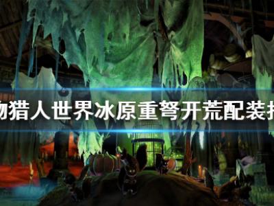 怪物猎人世界冰原重弩开荒怎么配装