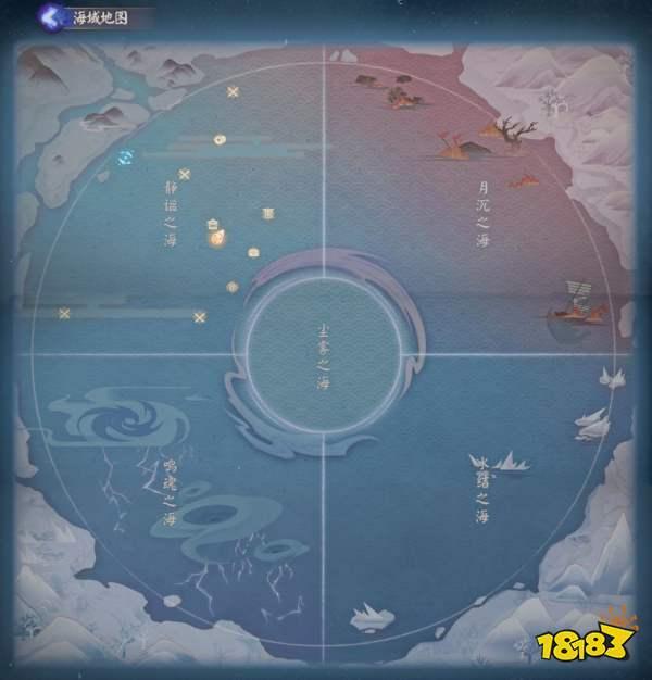 阴阳师鲛歌汐梦活动海域地图攻略