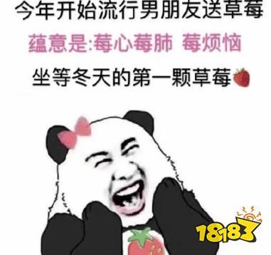 草莓图片什么梗图片