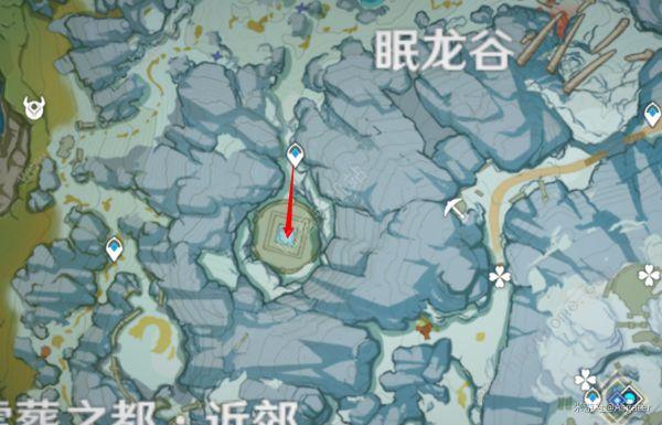 原神龙脊雪山石碑收集总汇:雪山8个石碑在什么地方[视频]图片8