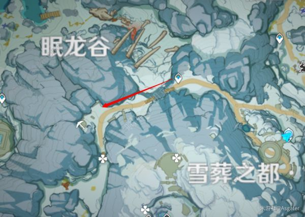 原神龙脊雪山石碑收集总汇:雪山8个石碑在什么地方[视频]图片5