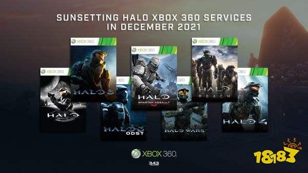 多款Xbox360《光环》游戏将停服 数字版现已下架