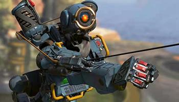 玩家公开《APEX英雄》探路者假装马文机器人的片段