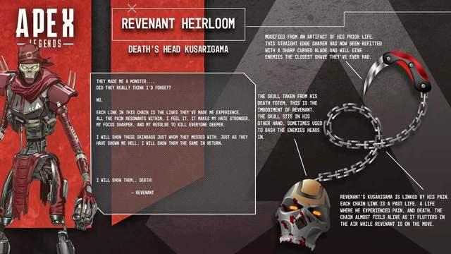 玩家公开自己对《Apex英雄》亡灵传家宝的设计样式