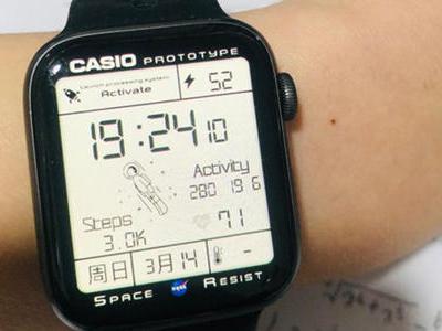 苹果手表怎么设置卡西欧太空人表盘 太空人表盘设置步骤图攻略