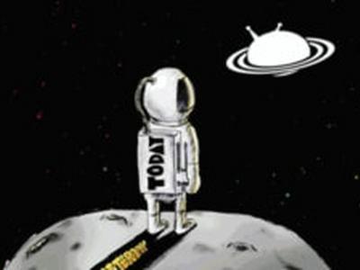 太空人动态壁纸怎么设置 宇航员飞出天际壁纸设置方法