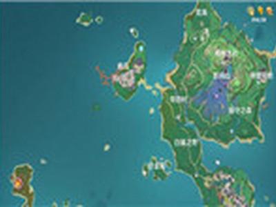 原神稻妻地图boss及周常本一览