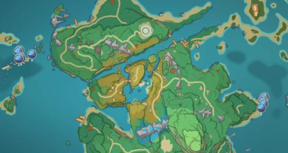原神2.0海灵芝在哪 稻妻海灵芝刷新位置一览