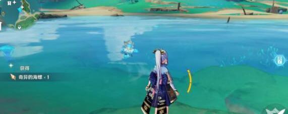 原神稻妻阿敬奇异的海螺位置及宝箱地点大全