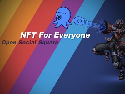 """NFT社交微博Ops打造""""加密乌托邦"""" 首发认购火热来袭"""
