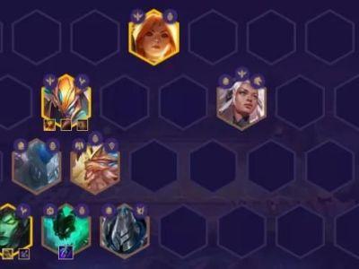 《云顶之弈》11.16版本黄金铁三角6.0怎么玩