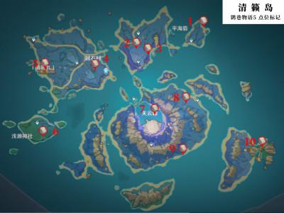 原神清籁岛神秘书页在哪 清籁岛神秘书页位置汇总