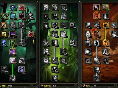 《魔兽世界怀旧服》TBC术士单刷围栏天赋加点分享
