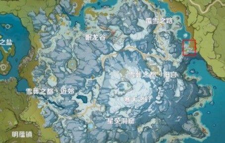 原神星银矿石位置大全 星银矿石分布图坐标汇总